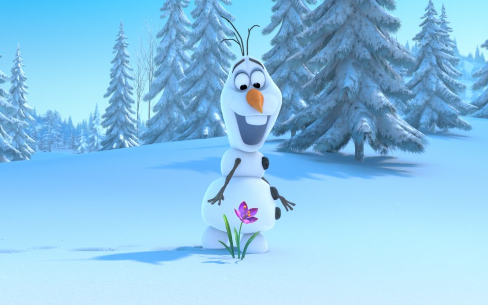 """""""FROZEN"""" (Pictured) OLAF. ©2013 Disney. All Rights Reserved."""