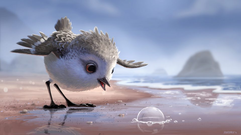 PIPER – Concept Art by Jason Deamer (Production Designer). ©2016 Disney•Pixar. All Rights Reserved.
