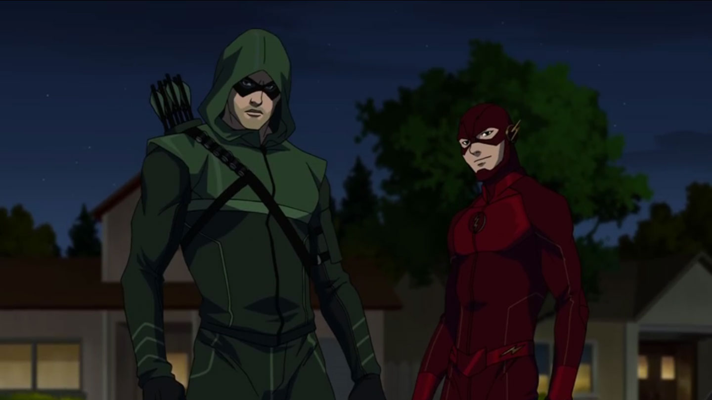 Vixen-Arrow-and-the-Flash