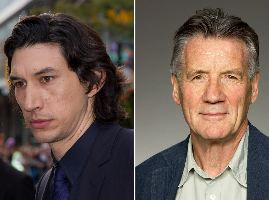 Adam Driver and Michael Palin are set to star