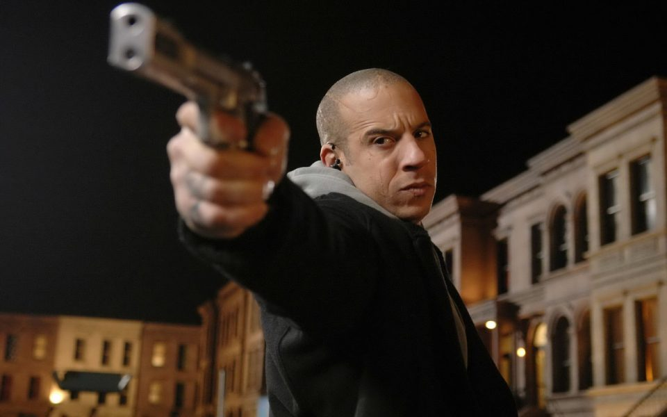 On a New York City street, Toorop (Vin Diesel) makes a desperate stand.
