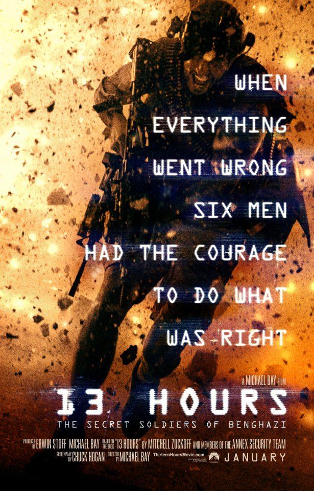 13 Hours- The Secret Soldiers of Benghazi - Trailer 2