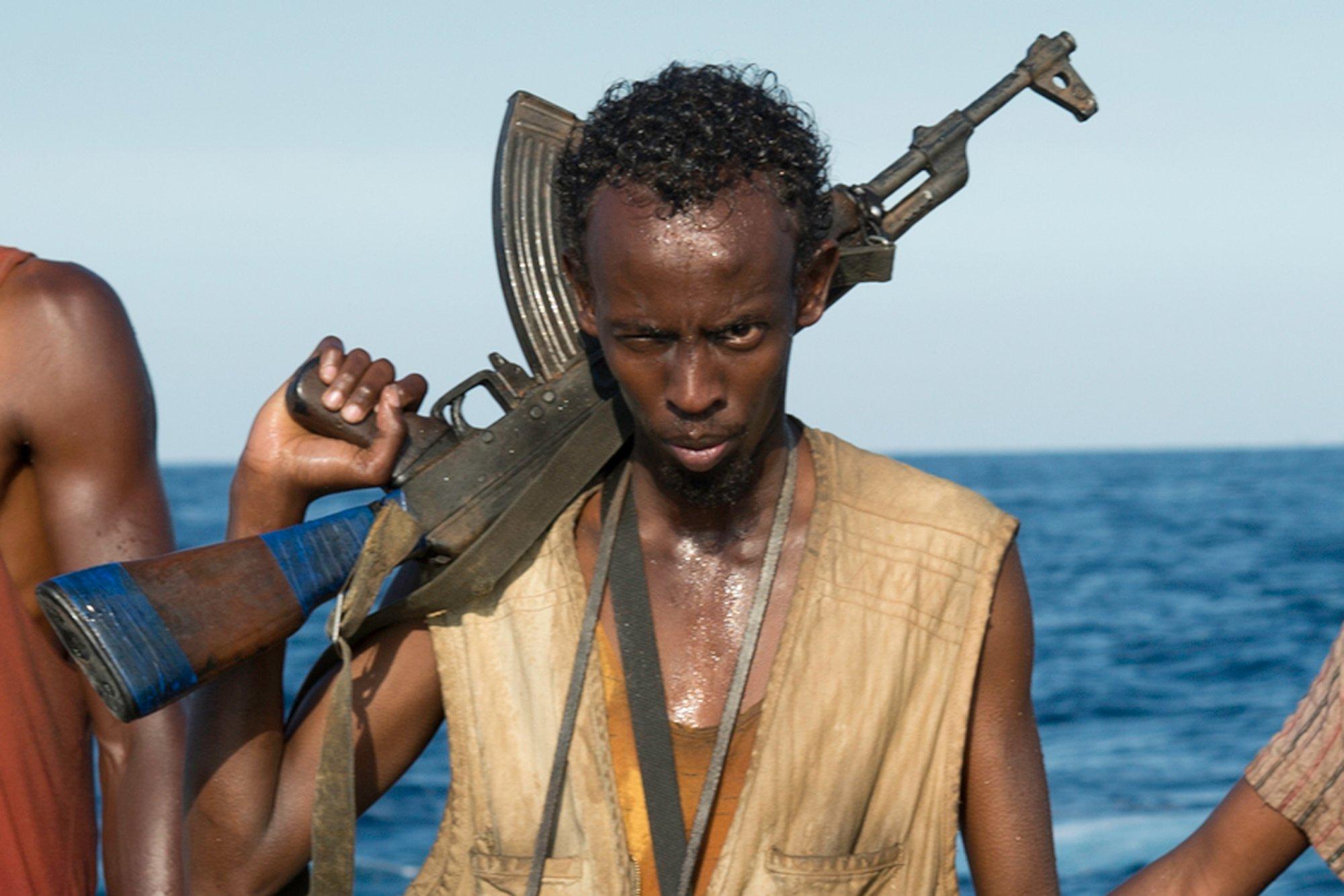 Abdi put in a memorable display in Captain Phillips.