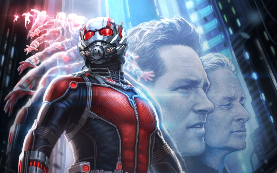 1st human-sized look at Ant-Man teaser