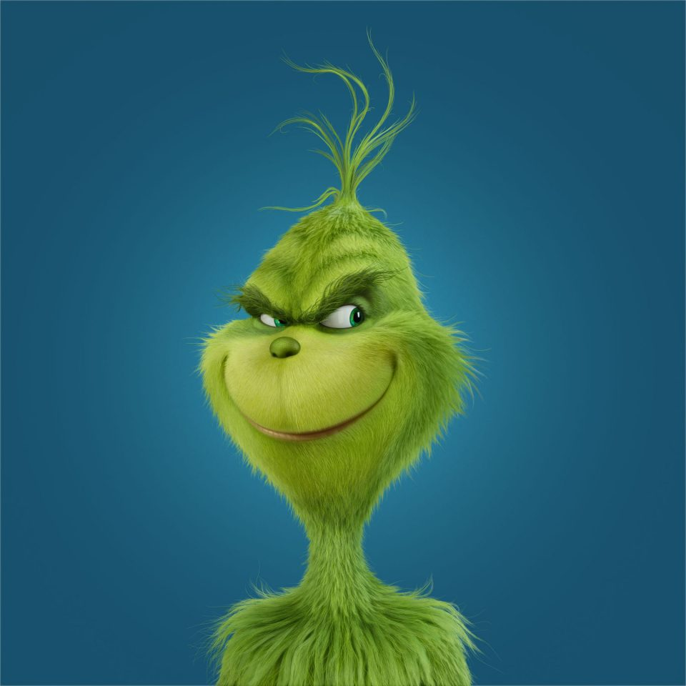 BENEDICT CUMBERBATCH voices The Grinch in Illumination Entertainment and Universal Pictures' Dr. Seuss' How the Grinch Stole Christmas, in theaters on November 10, 2017. Credit: Illumination Entertainment and Universal Pictures
