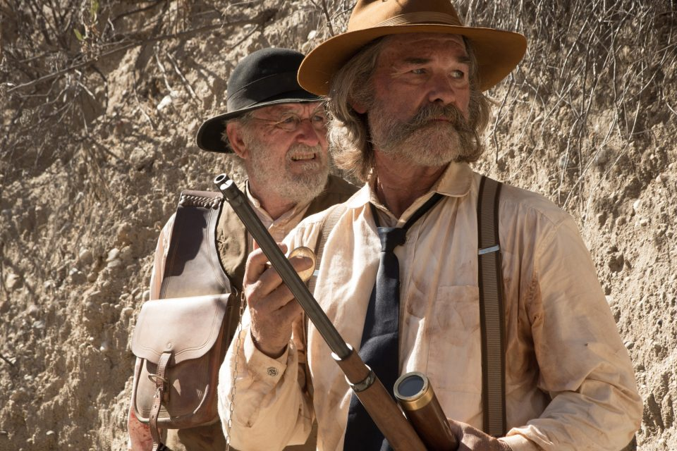 "This photo provided by Twilight Riders, LLC shows, Richard Jenkins, left, as Chicory and Kurt Russell as Sheriff Franklin Hunt in the western film ""Bone Tomahawk,"" an RLJ Entertainment release. The movie opens in U.S. theaters Friday, Oct. 23, 2015. (Scott Everett White/Twilight Riders, LLC via AP)"