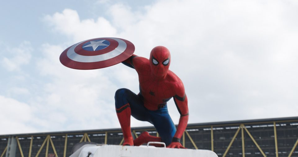 Spider-Man (Tom Holland) in Captain America: Civil War