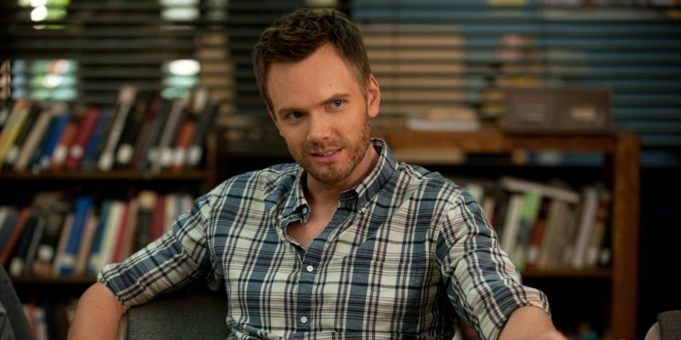 """COMMUNITY -- """"Herstory of Dance"""" Episode 407 -- Pictured: Joel McHale as Jeff Winger -- (Photo by: Colleen Hayes/NBC/NBCU Photo Bank via Getty Images)"""