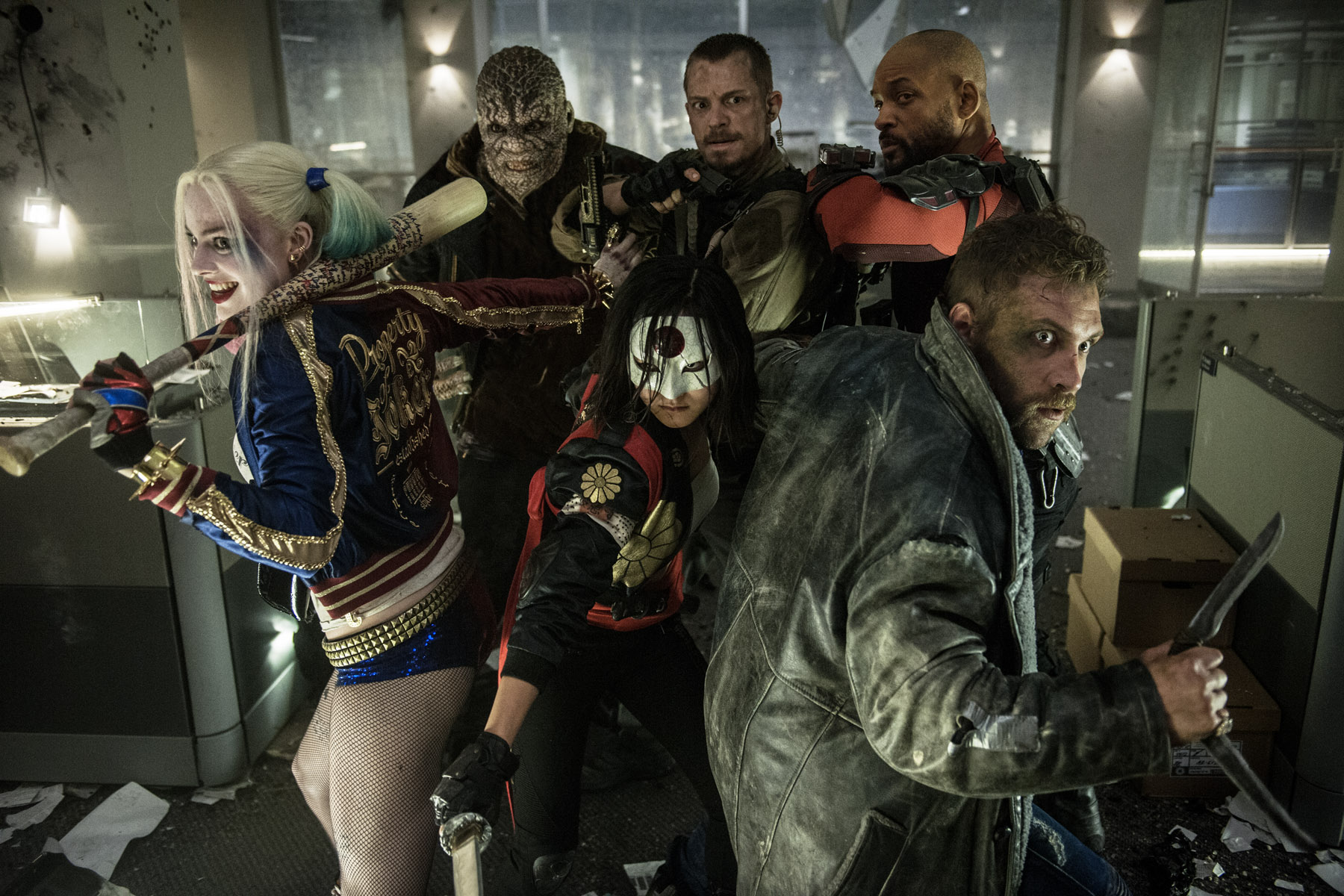 David Ayer posts a sweet new Suicide Squad poster