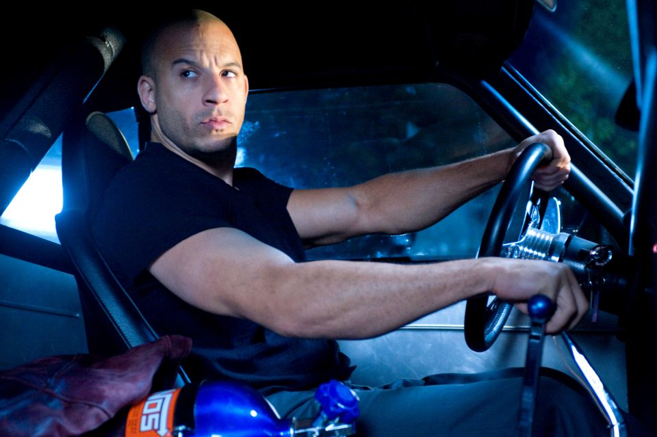 First set video from Fast 8