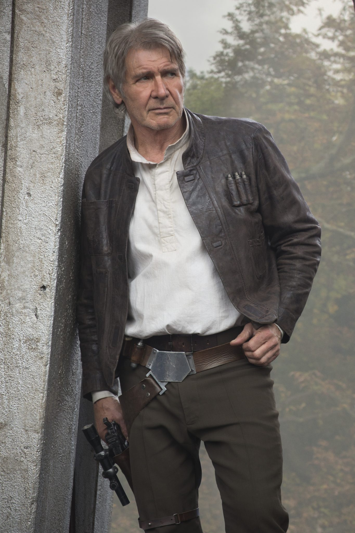 Star Wars: The Force Awakens  Han Solo (Harrison Ford)  Ph: David James  © 2015 Lucasfilm Ltd. & TM. All Right Reserved.