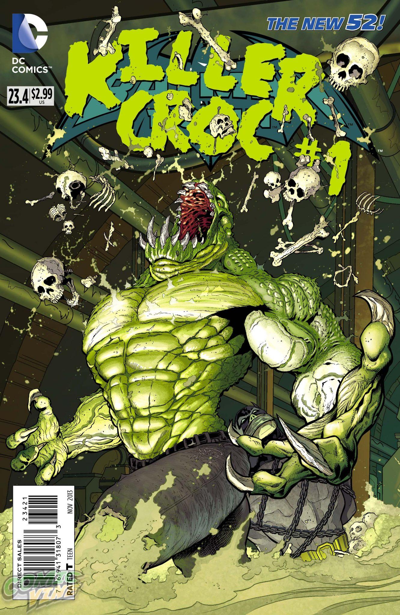 Killer Croc cast in Suicide Squad