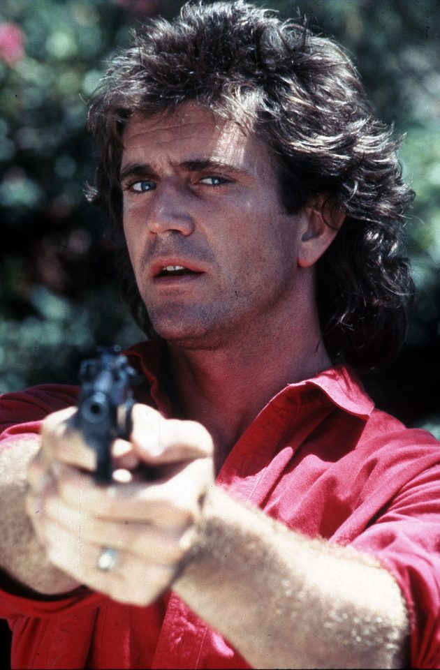 LETHAL WEAPON (US 1987) WARNER BROS MEL GIBSON     Date: 1987 (Mary Evans Picture Library) No third party sales.
