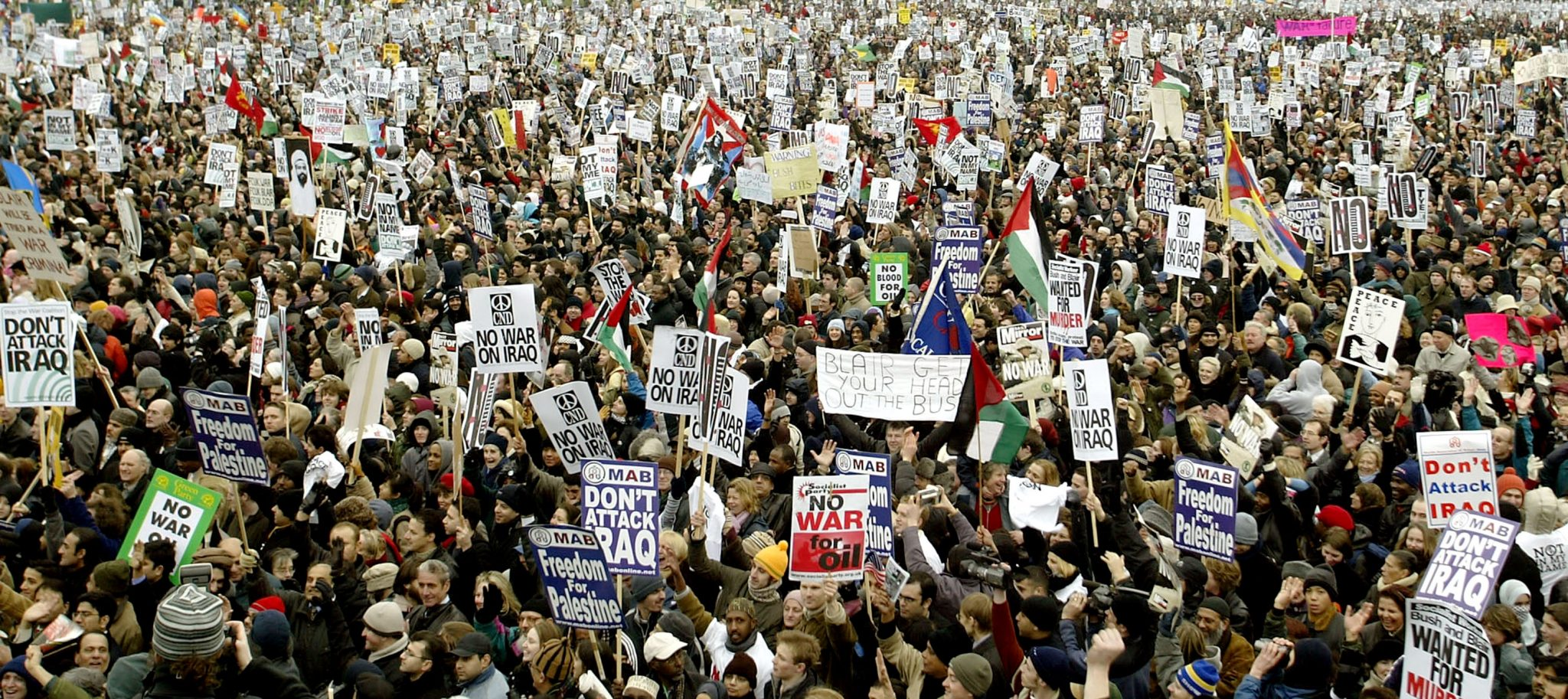 Antiwar Demonstration In London
