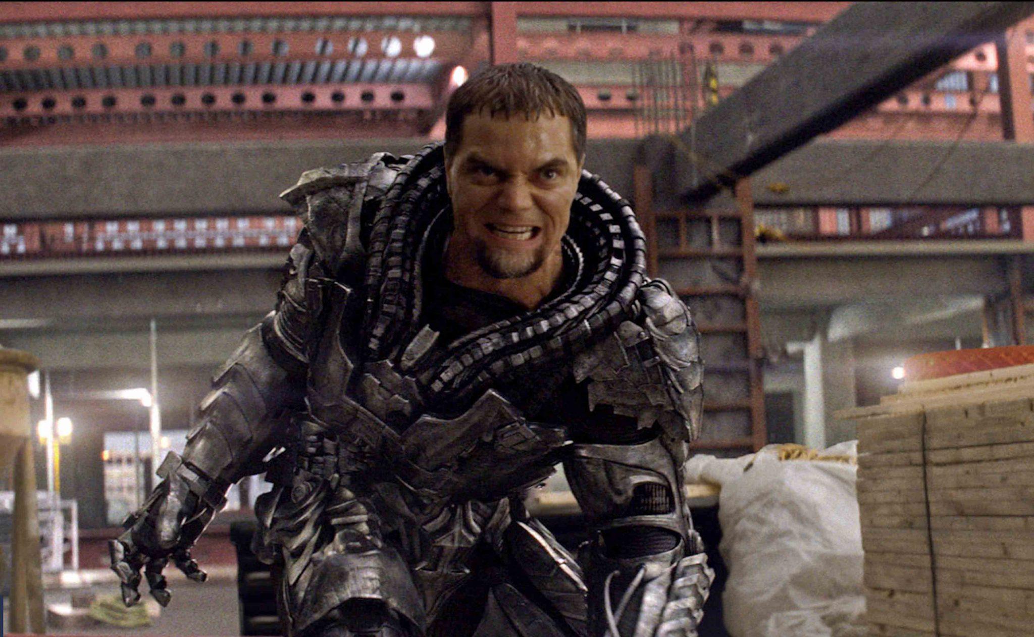 Michael Shannon on Zod's Batman v Superman role