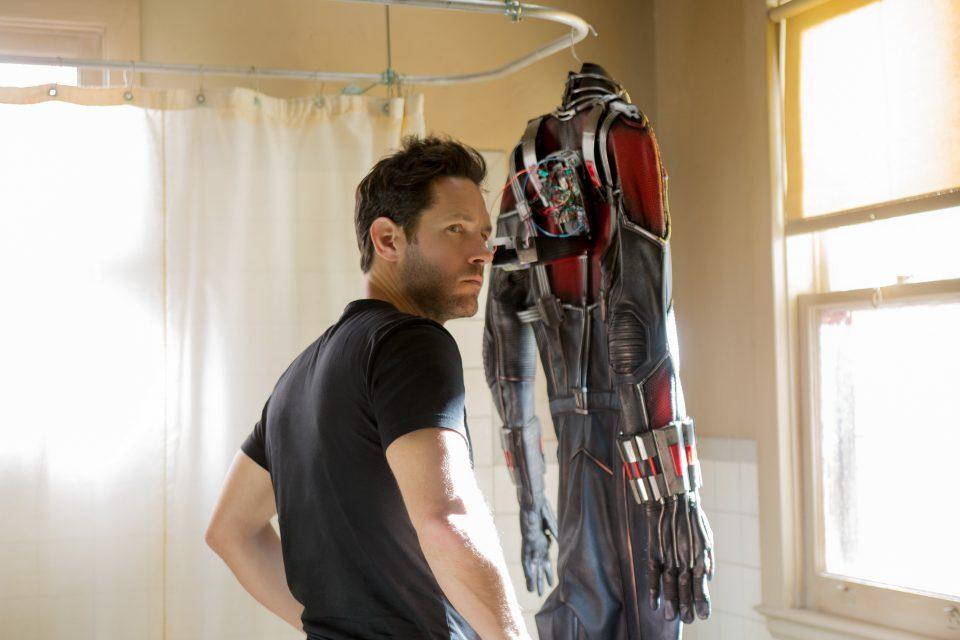Paul Rudd on rewriting Ant-Man