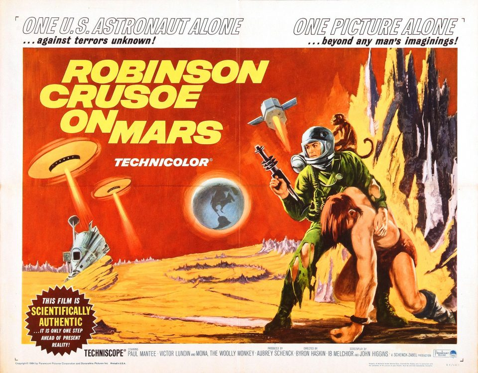 Robinson Crusoe on Mars - Review