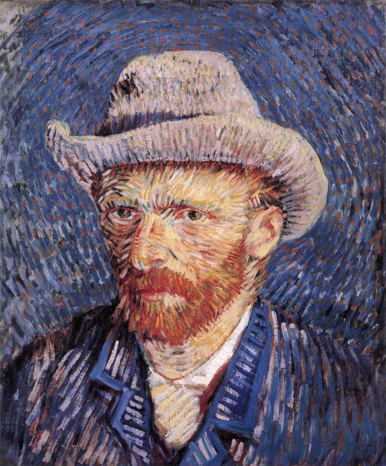 Self-portrait_with_Felt_Hat_by_Vincent_van_Gogh