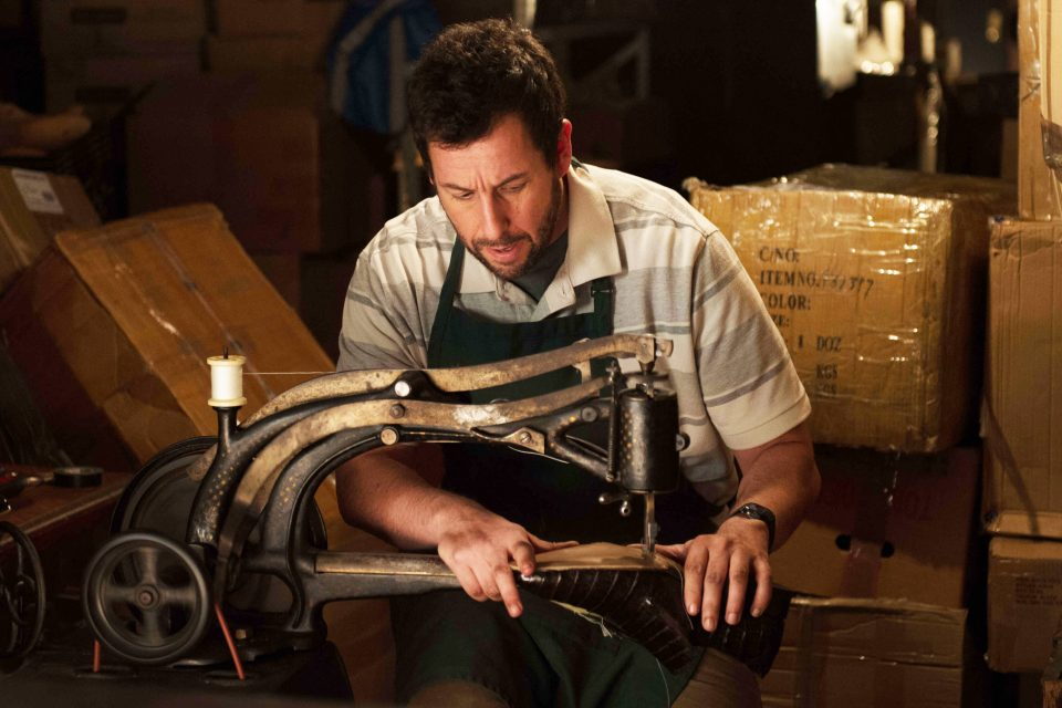 THE COBBLER - 2015 FILM STILL - Adam Sandler as Max Simkin - Photo Credit: Macall Polay   RLJE/Image Entertainment