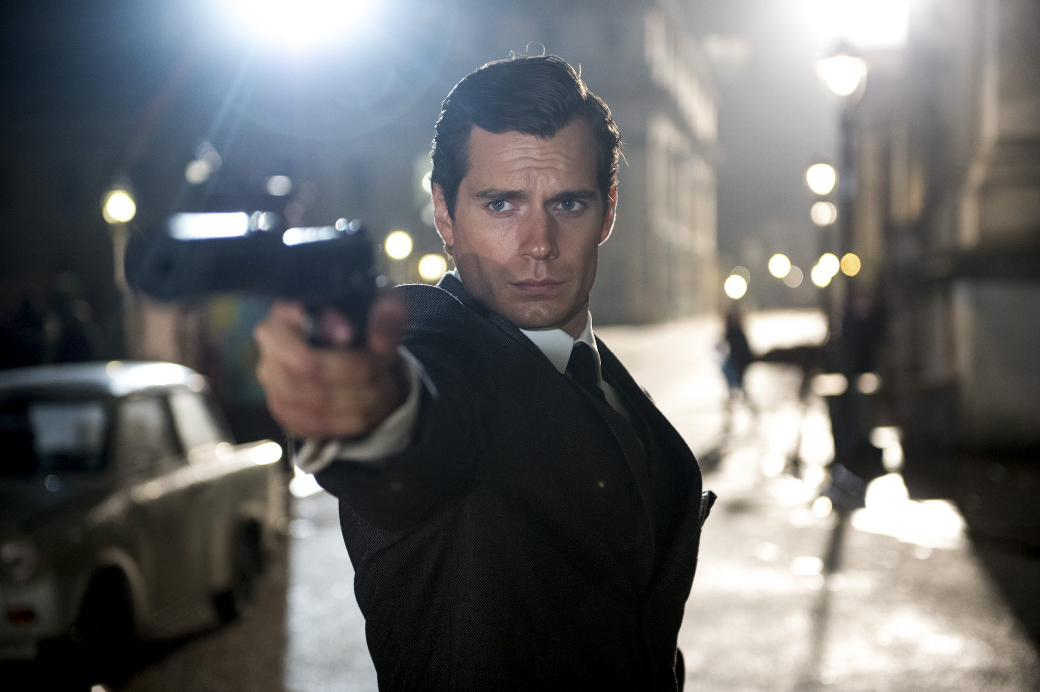 HENRY CAVILL in film The Man From U.N.C.L.E : movie directed by Guy Ritchie starring Henry Cavill, Armie Hammer, Hugh Grant; Spy; Espionnage; Action; film; cinema; movie; american; Agents très spéciaux - Code U.N.C.L.E; 2015 NOTE: this is a PR photo. SUNSETBOX does not claim any Copyright or License in the attached material. Fees charged by SUNSETBOX are for SUNSETBOX's services only, and do not, nor are they intended to, convey to the user any ownership of Copyright or License in the material. By publishing this material, the user expressly agrees to indemnify and to hold SUNSETBOX harmless from any claims, demands, or causes of action arising out of or connected in any way with user's publication of the material