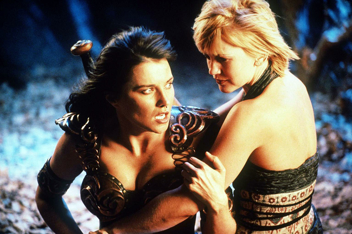 Xena (Lawless) and Gabrielle's (Renee O'Connor) relationship has always been close.