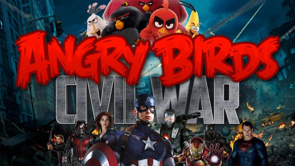 angry birds civil war big4
