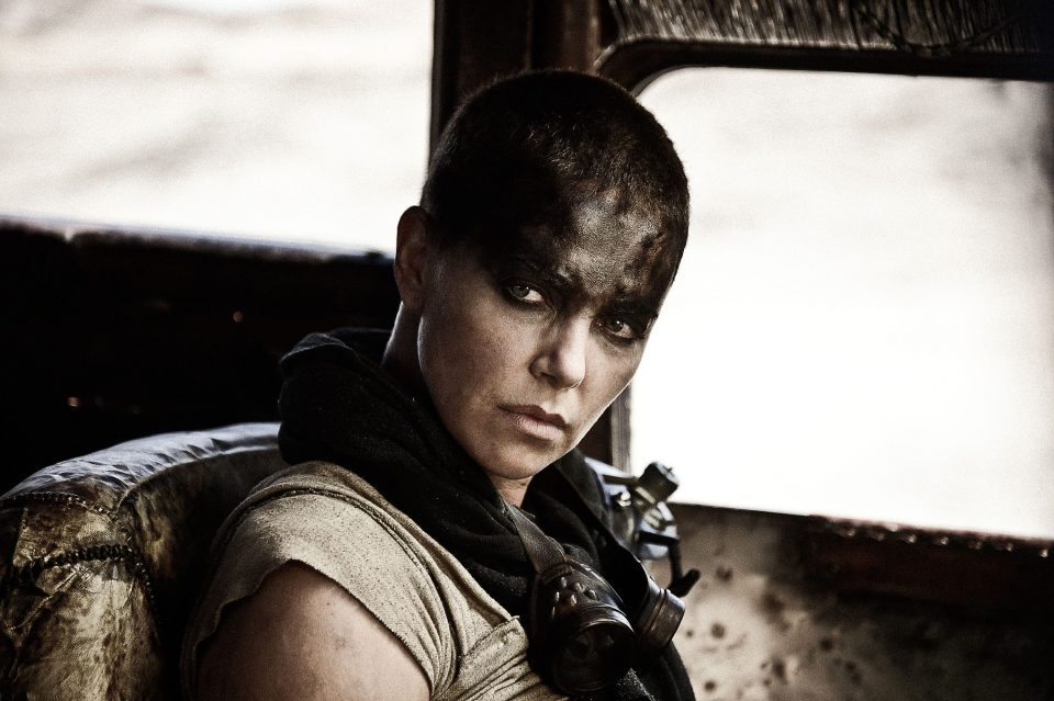 Charlize Theron in Mad Max Fury Road.