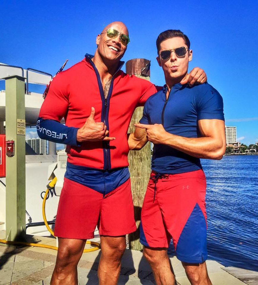 dwayne-zac-the-rock-baywatch