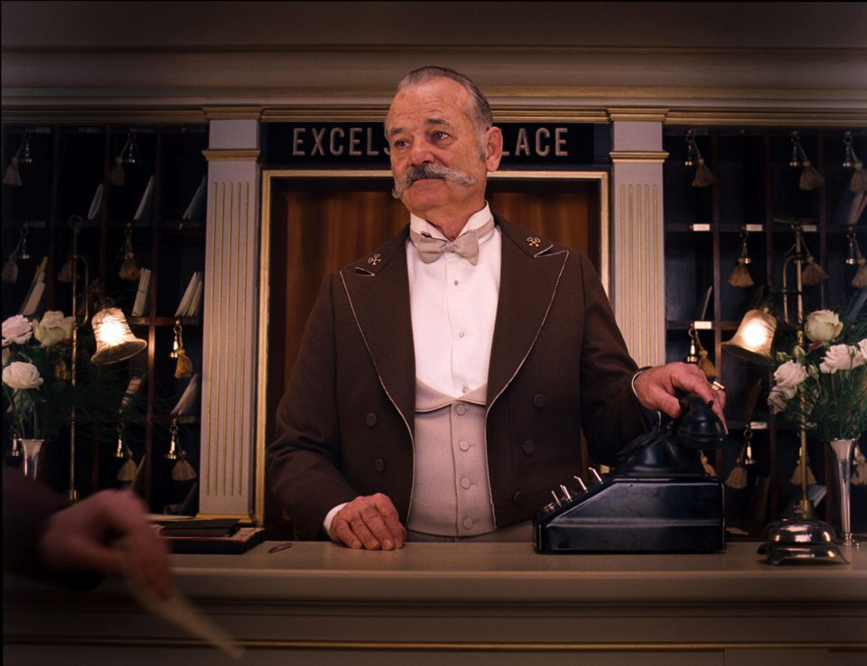 """This image released by Fox Searchlight shows  Bill Murray in a scene from """"The Grand Budapest Hotel."""" (AP Photo/Fox Searchlight) ORG XMIT: NYET503"""