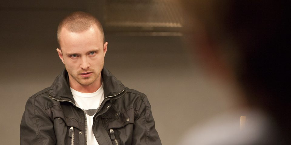 "In this image released by AMC, Aaron Paul portrays Jesse Pinkman in a scene from ""Breaking Bad."" (AP Photo/AMC, Ursula Coyote)"