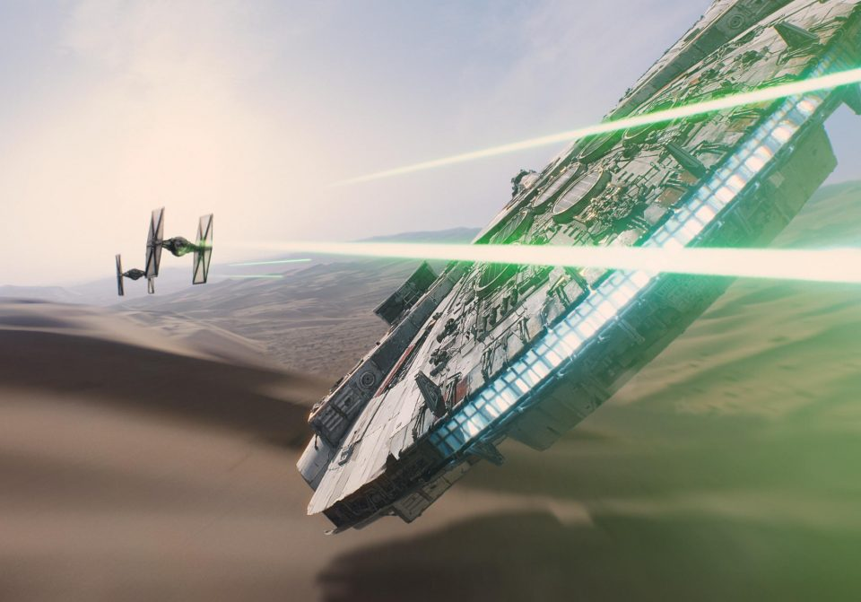 The Millennium Falcon is the real culprit of Star Wars