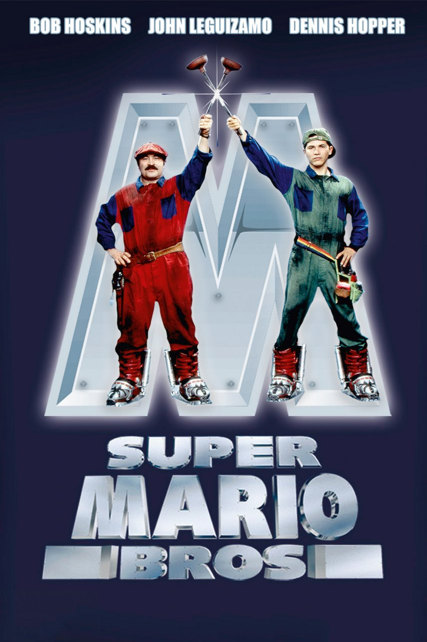 Image result for super mario bros movie poster