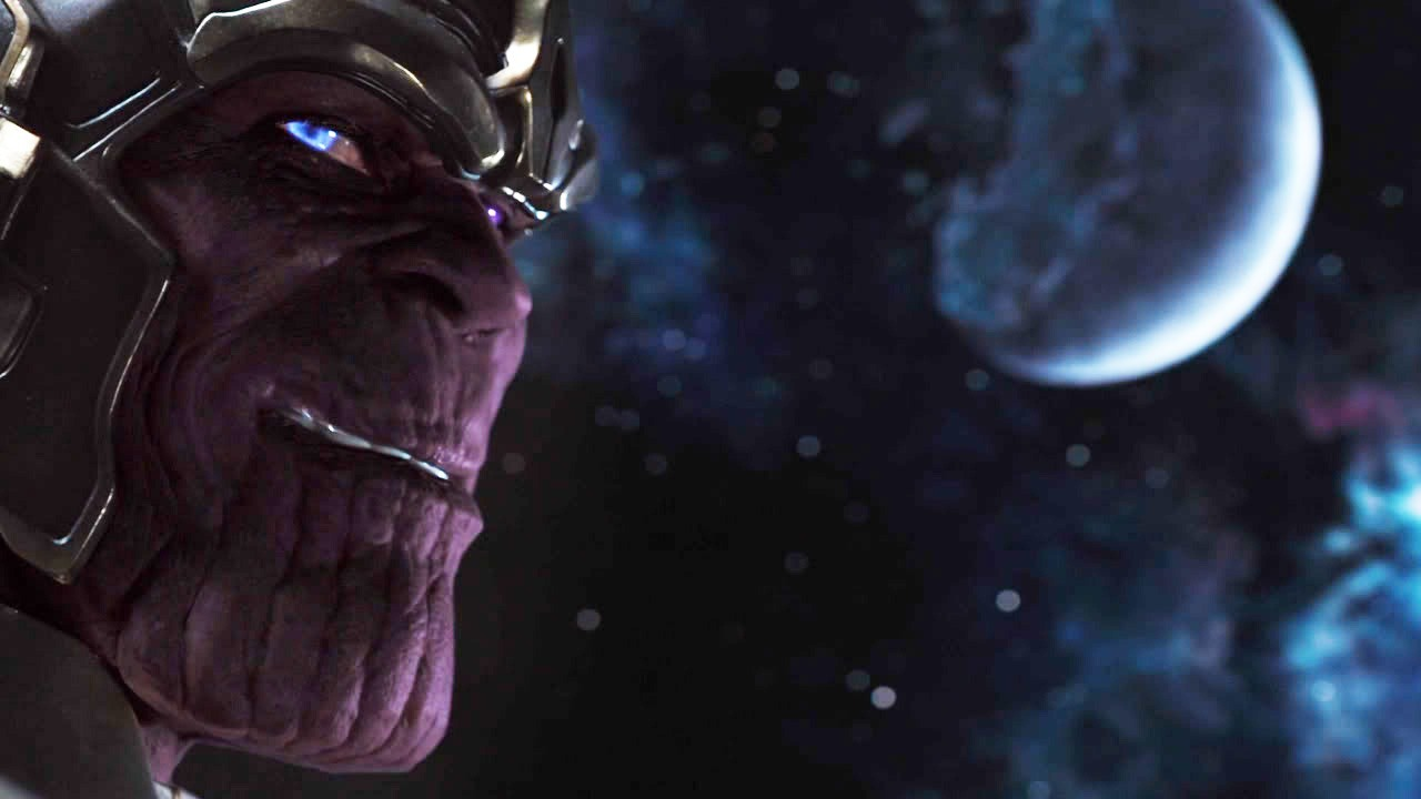 Brolin as Thanos in 2012's The Avengers