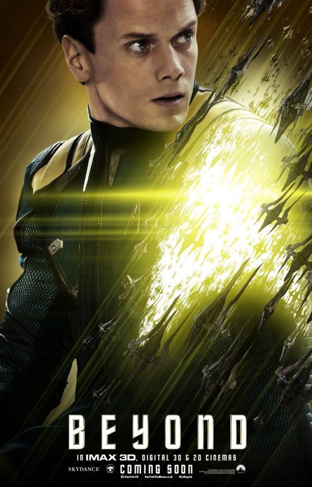 Anton Yelchin as Chekov