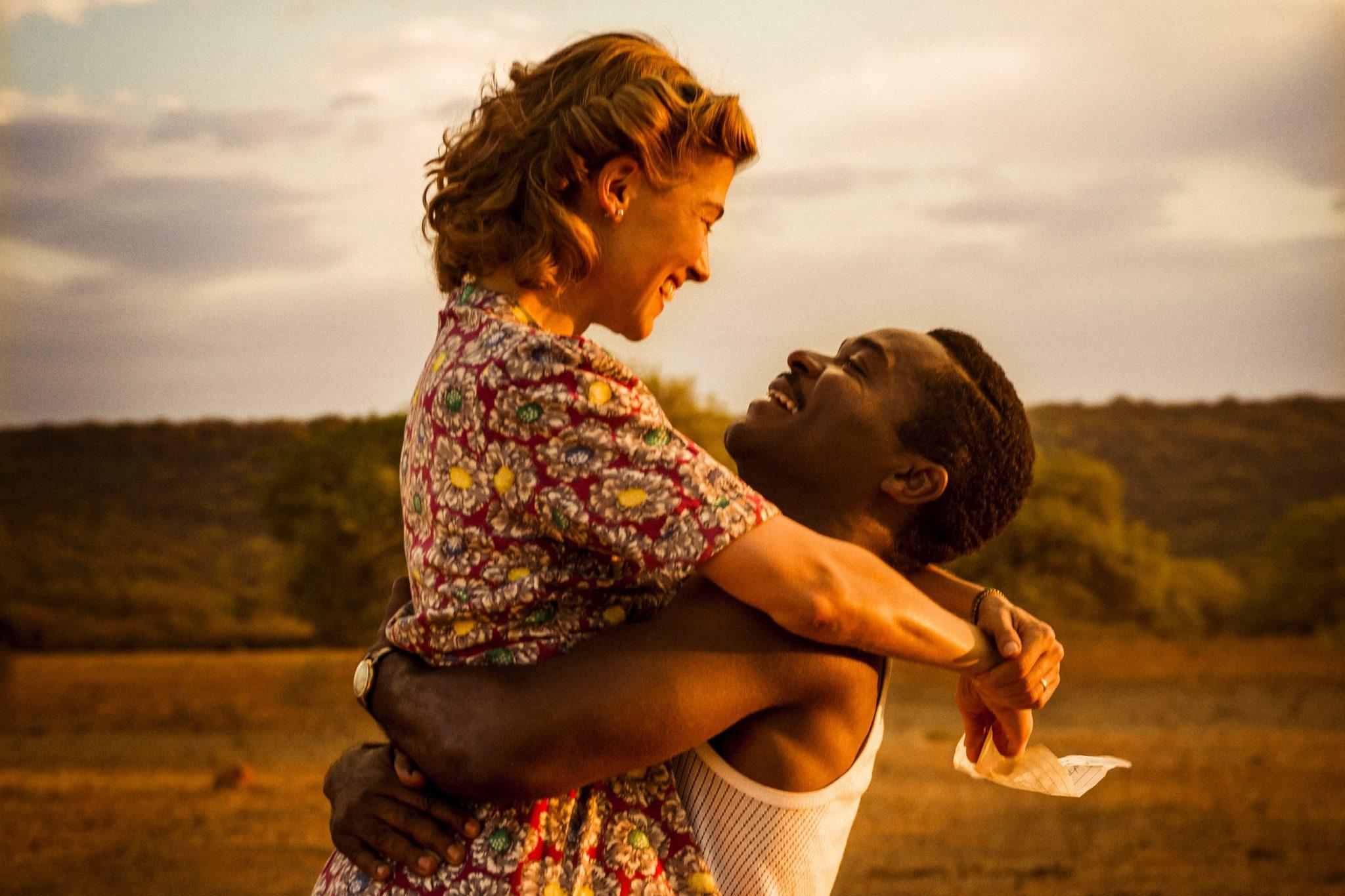 Rosamund Pike (Ruth) and David Oyelowo (Seretse) in A UNITED KINGDOM