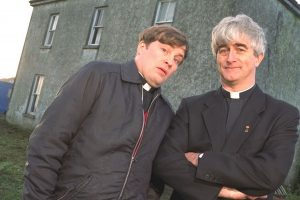 Father Ted and Dougal - as bad as each other