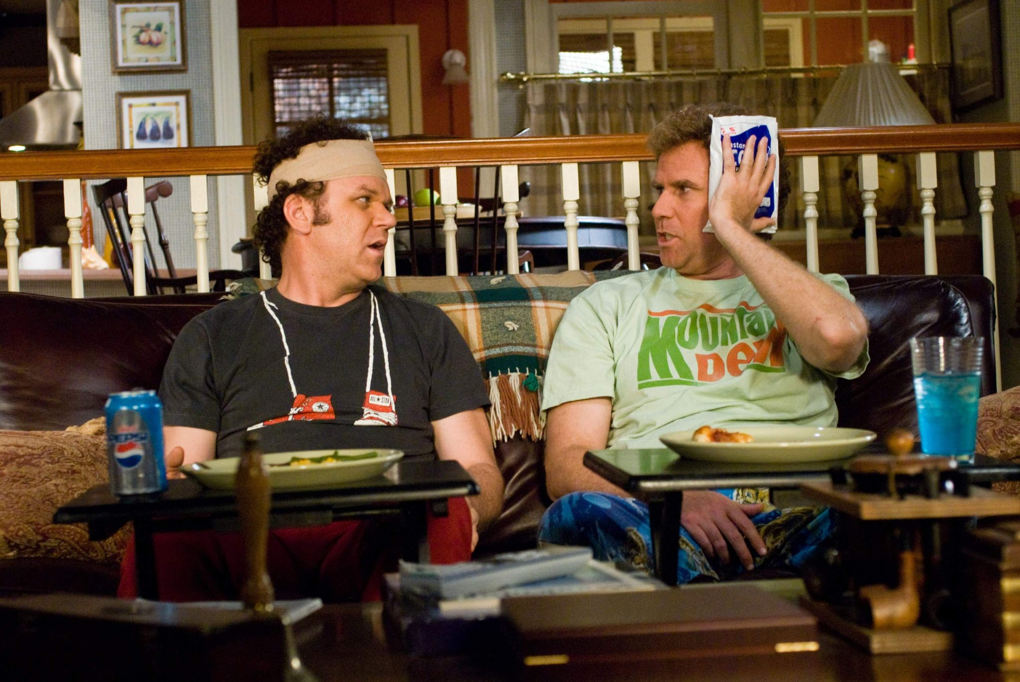 Reilly (left) will play Watson while Ferrell (right) plays Holmes.