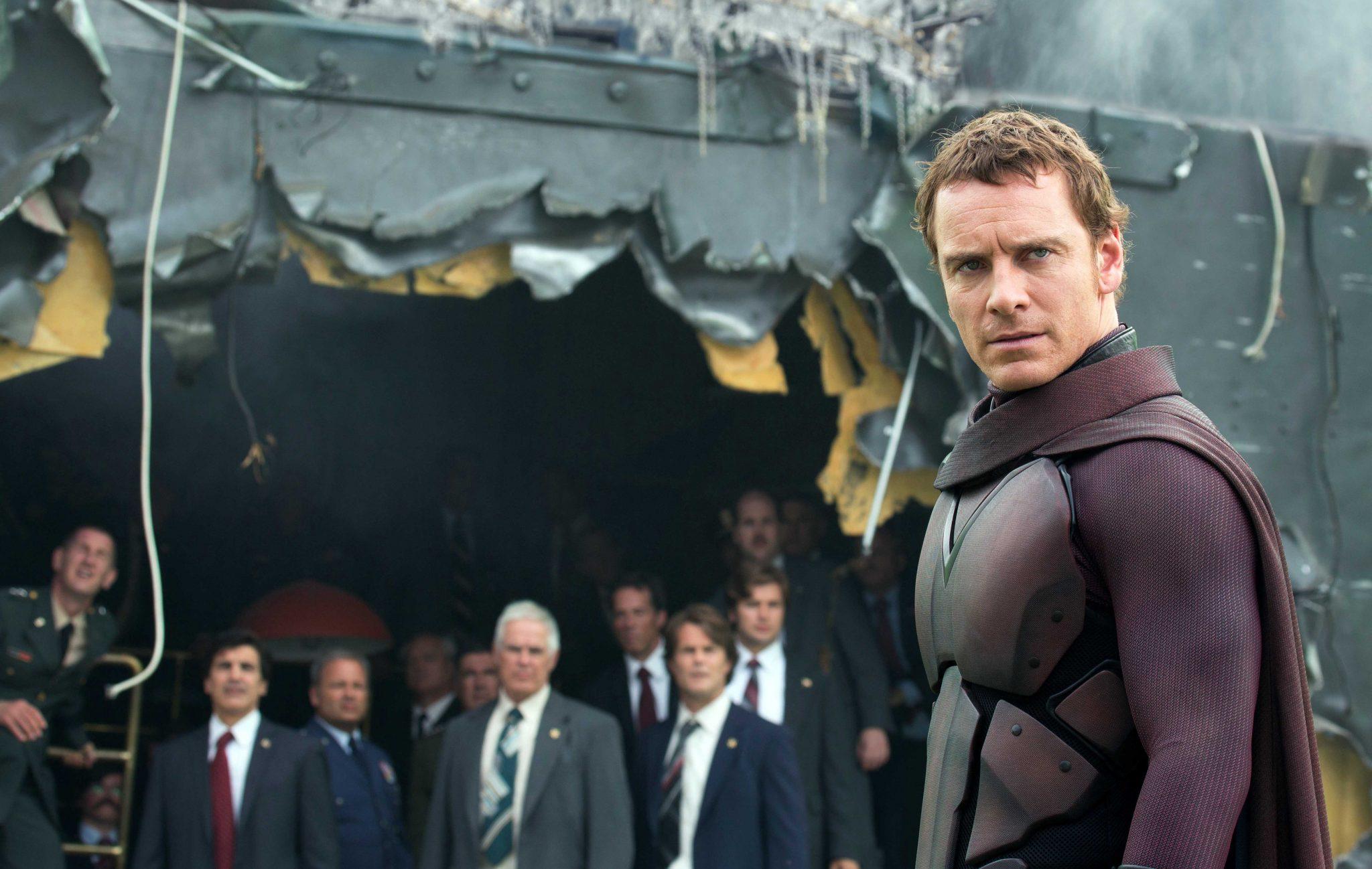 DF-20700Rv2   Erik Lehnsherr (Michael Fassbender) In X-Men: Days of Future past.