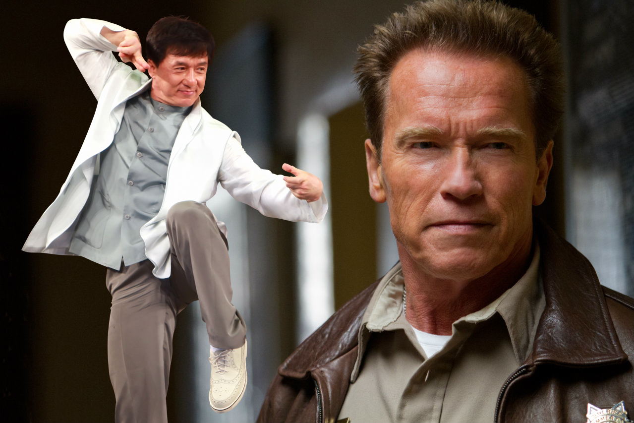 Arnold Schwarzenegger joins Jackie Chan for new fantasy film ... Arnold Schwarzenegger