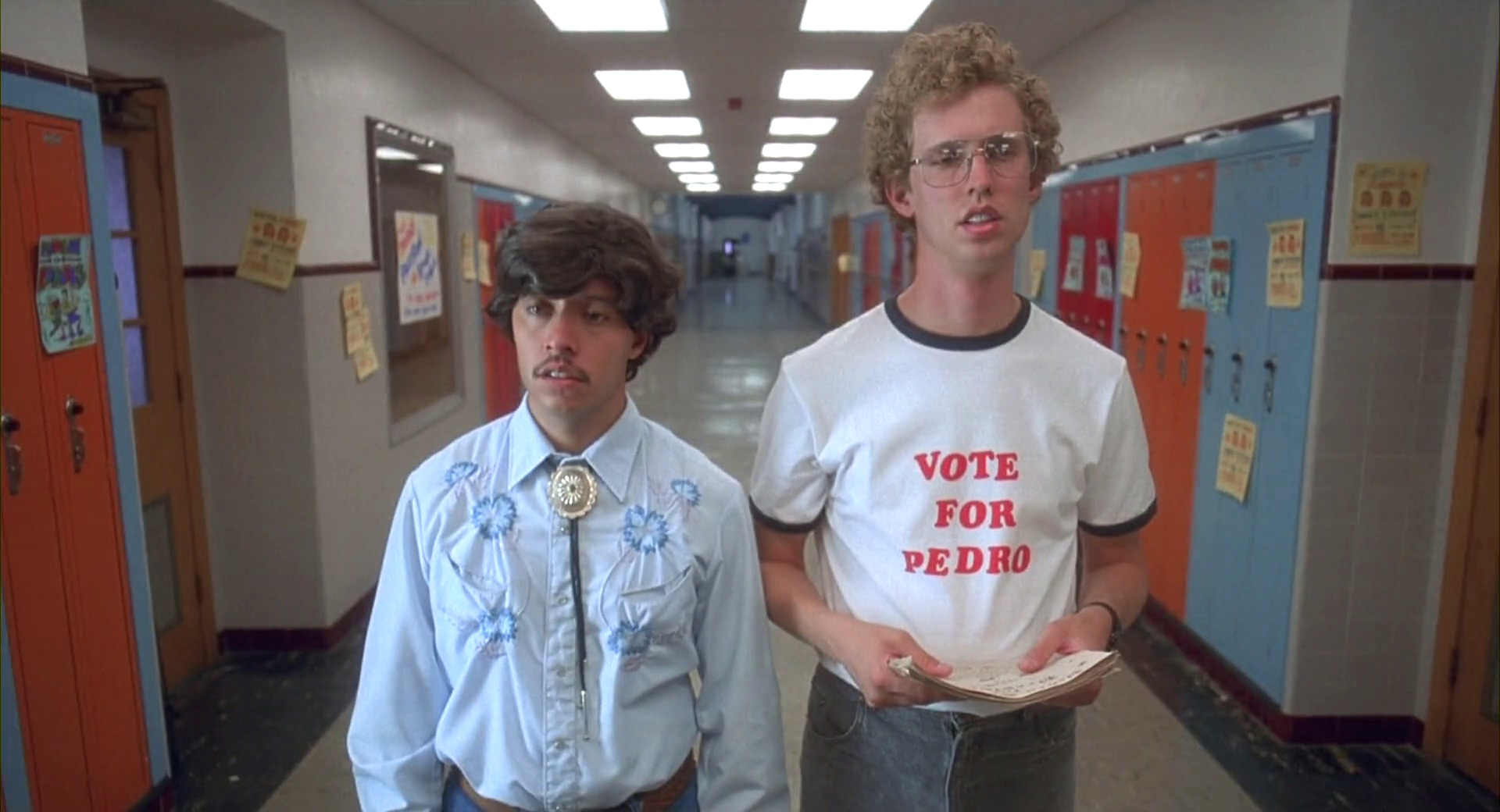 film-napoleon_dynamite-2004-napoleon_dynamite-jonheder-tshirts-vote_for_pedro_tshirt