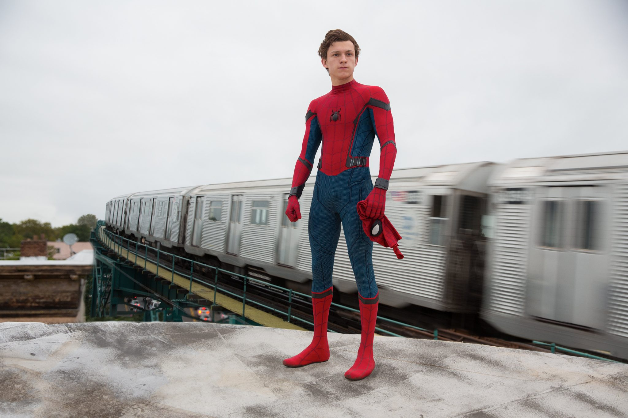 Tom Holland is Spider-Man in Columbia Pictures