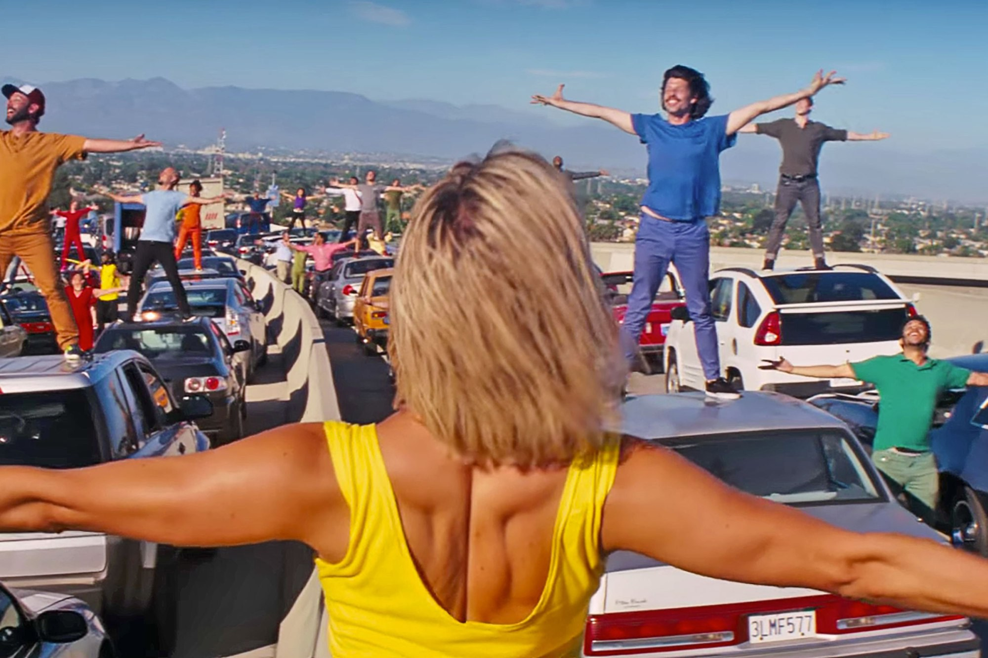 Watch The Intricate Rehearsals For La La Land S Opening Number Flickreel