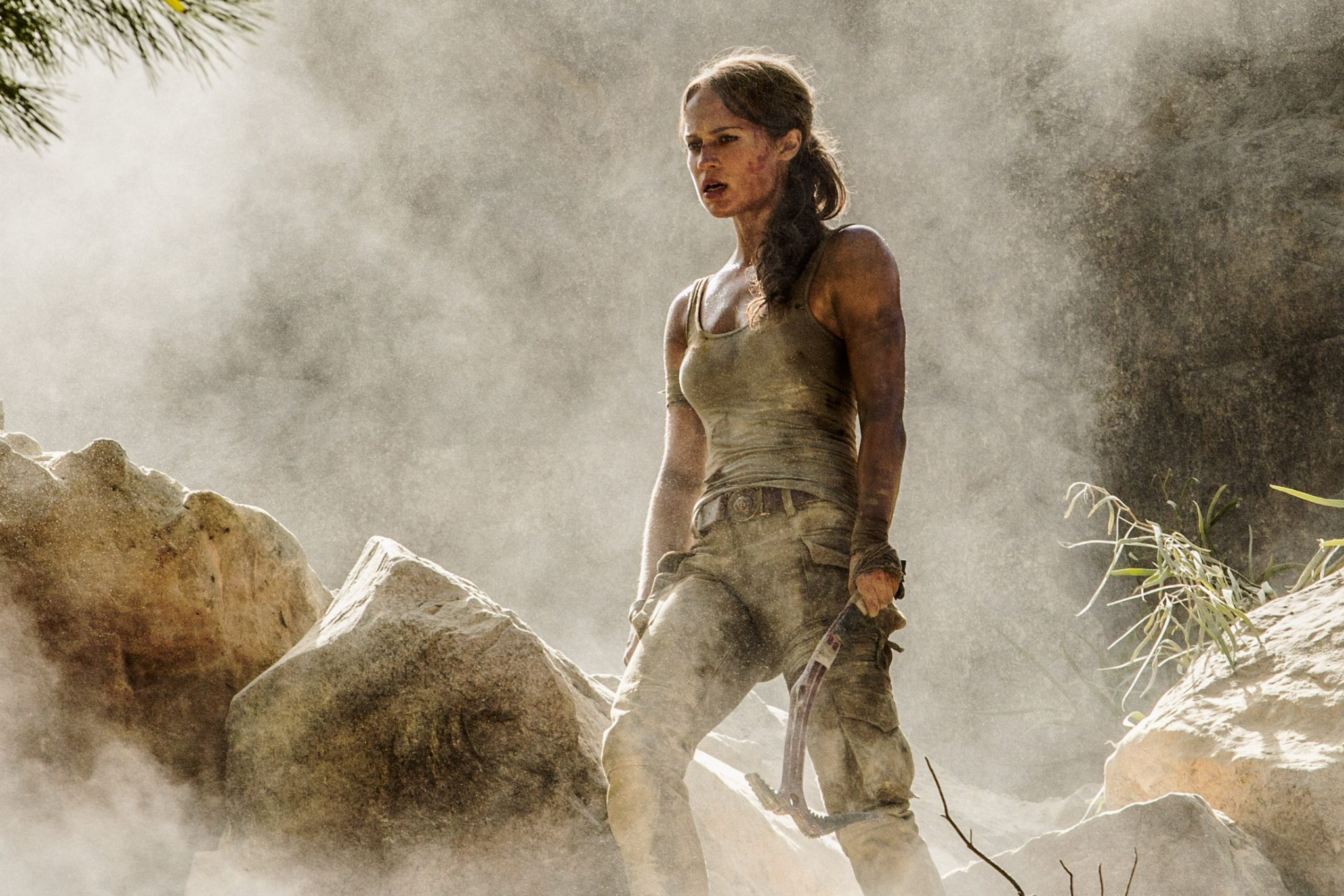 Alicia Vikander Sure Looks Like Lara Croft in These Tomb Raider Photos