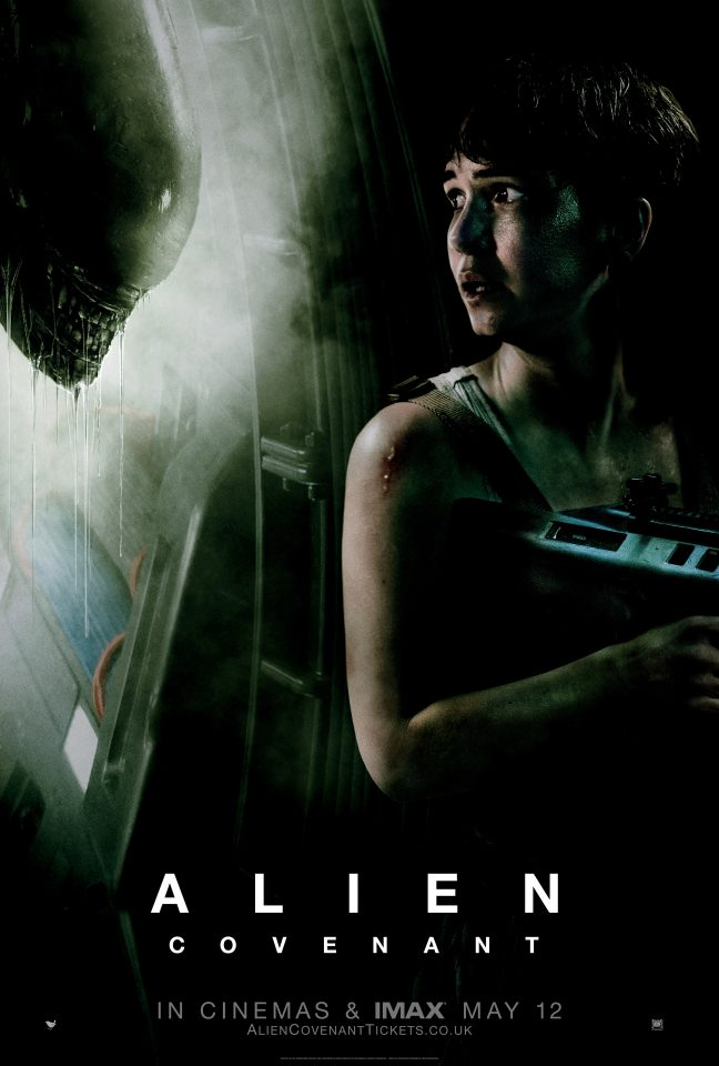 Alien Covenant Camp E One Sheet