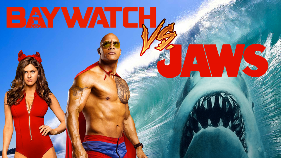 baywatch v jaws