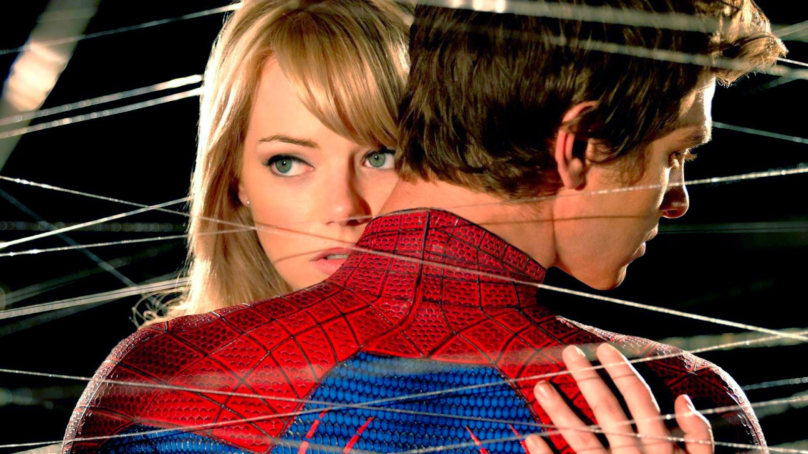 emma stone spiderman wallpaper