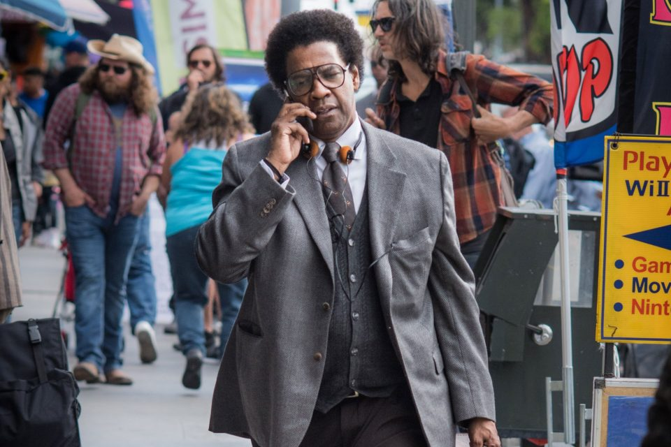 Denzel Washington stars in Columbia Pictures