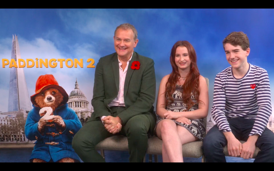 Hugh_Bonneville_Madeleine_Harris_Samuel_Joslin_Paddington_2_interview